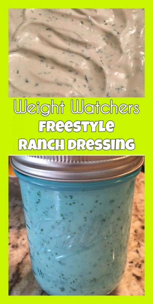 Weight Watcher Ranch Dressing Smoothie