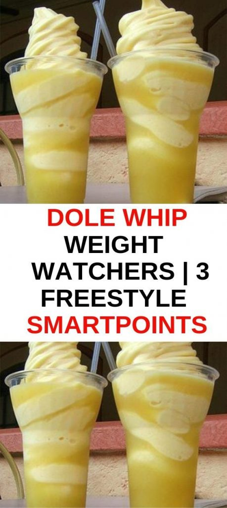 Dole Whip Weight Watchers