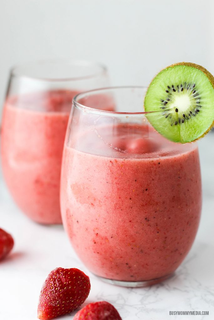 Kiwi Strawberry Smoothie